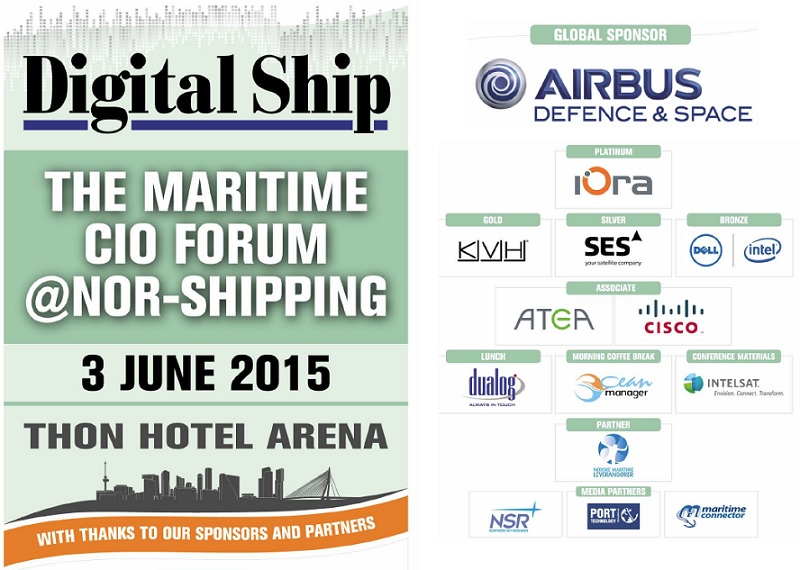 CIO Forum at Nor-Shipping