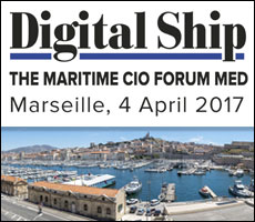 Digital Ship The Maritime CIO Forum MED, Marseille, 4 April 2017