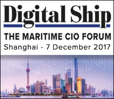 Digital Ship's The Maritime CIO Forum Shanghai, 7 December 2017