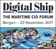 Digital Ship's The Maritime CIO Forum Bergen, 23 November 2017