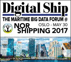 Digital Ship's Maritime Big Data Forum @ Nor-Shipping, 30 May 2017