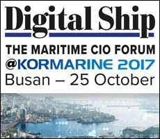 Digital Ship's CIO Forum @Kormarine, Busan, 25 October 2017