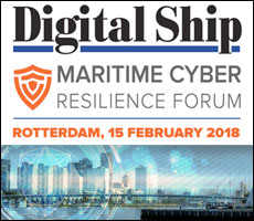 The Maritime Cyber Resilience Forum, Rotterdam 15 February 2018