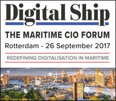Digital Ship's Maritime CIO Forum, Rotterdam, 26 Sept. 2017