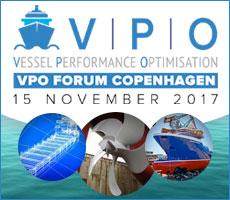 Vessel Peerformance Optimisation Forum Copenhagen - 15 NOVEMBER 2017