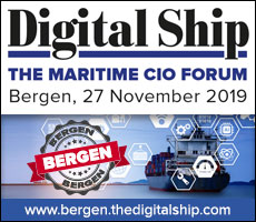Digital Ship maritime CIO Forum Bergen, 27 November 2019