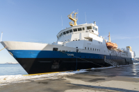 The training vessel MS Gann is to be fitted with an extensive equipment package supplied by Kongsberg Maritime Image courtesy of Peder Otto Dybvik