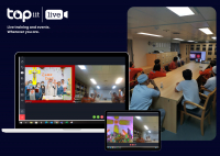 Tapiit Live - First live-stream mass.