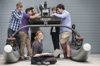 The QUT team in the Maritime RobotX Challenge