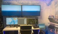 A demo version of an autonomous ship control centre created by VTT