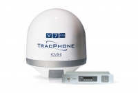 The new TracPhone V7-HTS antenna system has been designed to work with the Epic-backed network