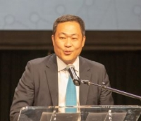 Eric Sung, CEO, in May 2019. Image courtesy of Intellian