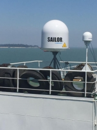 Chinese dredging vessels to roll out VSAT