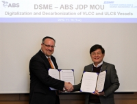 ABS and DSME sign digitalisation and decarbonisation agreement
