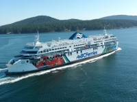 BC Ferries cruise vessel. Image courtesy of BC Ferries