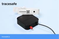 The TraceSafe gateway and wristband technology.