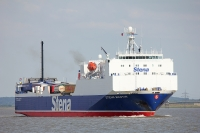 The system was trialled on the Stena Scotia