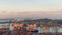 The Port of Singapore. Image courtesy of Unsplash