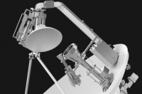 The v240MT antenna. Image courtesy of Intellian