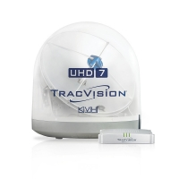 KVH has introduced the TracVision UHD7 for entertainment at sea