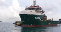 POSH Teal, 21,000 BHP towing tug capable of anchor handling/ towing/ support works. Image courtesy of Bureau Veritas: Marine & Offshore