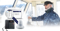 MarineStar E-Lite provides voice and data connectivity in a package optimised for smaller vessels.