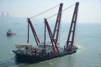 Scaldis Salvage and Marine Contractors' new heavy lift vessel Gulliver