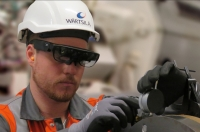 Augmented reality added to seals and bearings maintenance