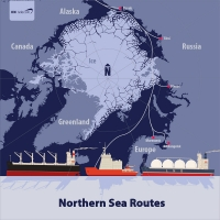 Northern sea routes could benefit from faster connectivity, says IEC Telecom.