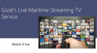 Gizat launches live maritime streaming TV service