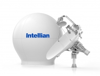 Carnival implements tri-band antenna system from Intellian